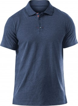Mens Lightweight Polycotton Polo - Detailansicht