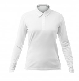 ZHIKDRY LT Long Sleeve Polo Women - Detailansicht